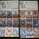Sunoco/DX 1972 NFL hard to find player stamps:Cowboys, Redskins, Broncos, Jets