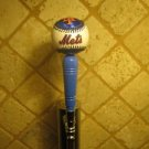 New York Mets  KEGERATOR BEER TAP HANDLE Knob Baseball Bar Sports MLB Citi Brew