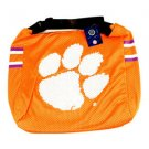 Ncaa Clemson Tigers Jersey Tote Shoulder Bag  School Purse Orange Watson  Logo