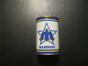 Vintage MLB  Mariners Toy Tin  Piggy Bank  Rare Seattle   1980's  Kingdome