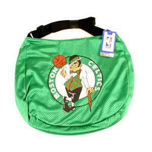 Boston Celtics Jersey Tote Bag Green Purse Shoulder Strap Black  NBA Team  logo