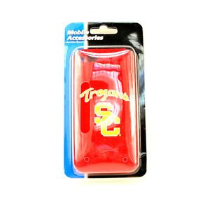 NCAA USC Trojans  iPhone 5 5S Silicone Gel Case Mobile Phone Skin Cover So Cal