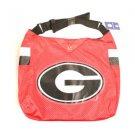 Ncaa Georgia Bulldogs Jersey Tote Shoulder Bag  School Purse Red College  Logo