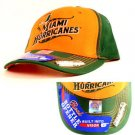 Hurricanes Hat Cap Built In Bottle Opener Bill Green UM NCAA Miami Sports Canes