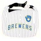 MLB Milwaukee Brewers Jersey Tote Bag White Purse Shoulder Strap Braun logo