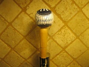 New York Yankees KEGERATOR BEER TAP HANDLE Ball Bar Sports MLB Brew  New