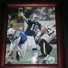 NFL INDIANAPOLIS COLTS PEYTON MANNING FRAMED 10 X 12 PHOTO