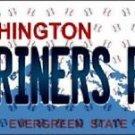 "Mlb Mariners Fan Vanity License Plate Tag Seattle 6""x 12""  Metal Auto Kingdome"