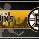 "Boston Bruins  Vanity License Plate Tag  6""x 12"" Metal Auto Stanley Cup New NHL"