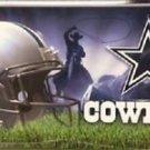 "Dallas Cowboys Metal License Plate Tag State 12 "" x 6"" NFL Truck Auto Elliott"