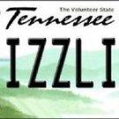 "NBA Memphis Grizzlies Vanity License Plate Tag Miami 6""x 12"" Metal Auto  New USA"