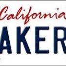 "NBA Lakers Vanity License Plate Tag Los Angeles 6""x 12"" Metal Auto Bryant CAL"