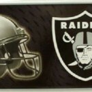 "Oakland Raiders Metal License Plate Tag State 12 "" x 6"" NFL Truck Auto Carr"