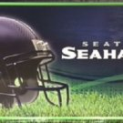 "Seattle Seahawks Metal License Plate Tag State 12 "" x 6"" NFL Truck Auto Wilson"