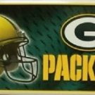 """Green Bay Packers Metal License Plate Tag State 12 """" x 6"""" NFL Truck Auto Rodgers"""