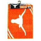 NCAA Texas  2-Piece Tufted Nylon Rug Set Longhorns 18 X 24  20 X 34 Dorm Bath