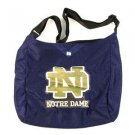 Notre Dame  Jersey Tote Shoulder Bag  School Purse Fighting Irish Blue Logo
