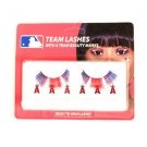 MLB Los Angeles Angels Eyelash Extension Little Earth Decal Beauty Red  Nip