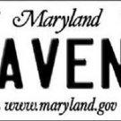 "Nfl Ravens Vanity License Plate Tag Baltimore  6""x 12"" Metal Auto Flaco Lewis"