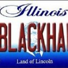"NHL Go Blackhawks Vanity License Plate Tag  State  6""x 12""  Metal Chicago  Auto"