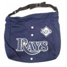 Tampa Bay Rays Jersey Tote Bag Blue Purse Shoulder Strap MLB Longoria logo