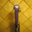TCU KEGERATOR BEER TAP HANDLE Football Helmet Texas Chrstian Team Bar NCAA