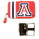 NCAA Wildcats Shell Wristlet Wallet Purse Blue Phone Arizona Team Logo Woman UA