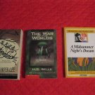 To Kill a Mockingbird, Harper Lee, War of the Worlds, Shakespeare Lot VG Cond