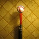 St Louis Cardinals KEGERATOR BEER TAP HANDLE Rawling Baseball Bar Busch Brew MLB