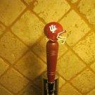 Indiana Hoosiers KEGERATOR BEER TAP HANDLE Football Helmet Bar  Sport NCAA
