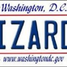 "NBA Wizards Vanity License Plate Tag Washington 6""x 12"" Metal Wall Auto New Car"