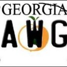 "NCAA Georgia Bulldogs Vanity License Plate Tag 6""x12""   College Team Metal Auto"