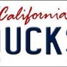 "NCAA Oregon Ducks Vanity License Plate Tag 6""x12"" California College Metal Auto"