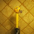 LSU Tigers KEGERATOR BEER TAP HANDLE Football Helmet Yellow SEC Team Bar NCAA
