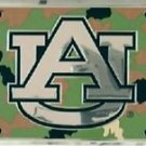 AUBURN UNIVERSITY LICENSE PLATE CAR TRUCK TAG TIGERS CAMO METAL EMBOSSED NCAA