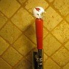 Arizona Cardinals  KEGERATOR BEER TAP HANDLE  NFL Football Helmet Red Bar Sport