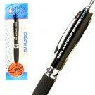 San Antonio Spurs Premium Hi-Line Ink Pen NBA Black Logo Duncan School Team  TX