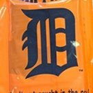 MLB Tigers Rain Poncho - Detroit Team  One Size Kaline Hooded  Series New Packet
