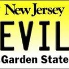 "NHL Devils Vanity License Plate Tag  6""x 12"" Metal New Jersey Auto Cup New"
