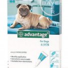 ADVANTAGE AQUA 4 PACK MEDIUM DOGS 11-20 LBS