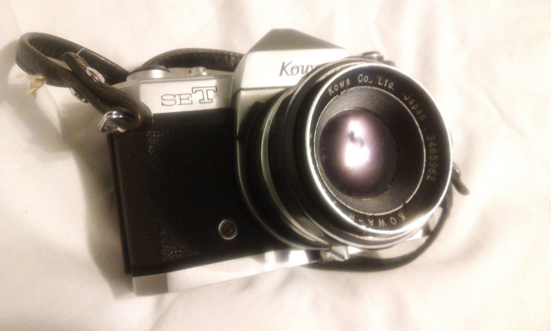 Kowa SET R2 Camera W/ Kowa R 50mm 1:1.8/50 Lens Working Needs TLC