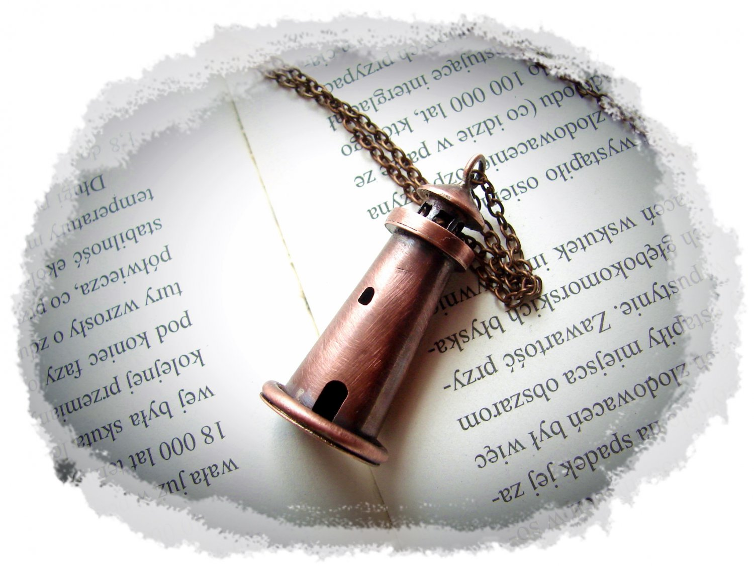 Necklace - Copper Lighthouse