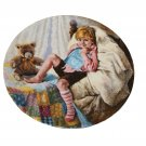 "Diddle Diddle Dumpling by John McClelland 8 1/2"""" Collectors Plate w/Certificate and Booklet"