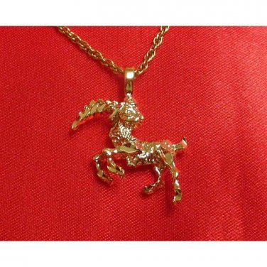 14K Double Gold Filled Capricorn Charm/Pendant
