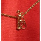 14K Double Gold Filled Golf Bag Charm/Pendant