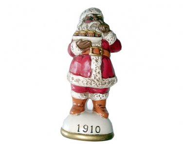 African-American Santa Circa 1910 Memories of Santa Collection Ornament NIB