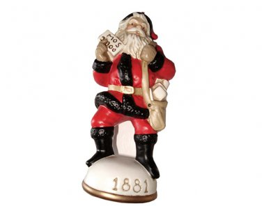 Christmas Mail Santa Circa 1881 Memories of Santa Collection Ornament NIB