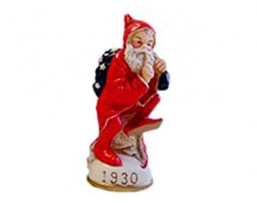 Elfin St. Nick Circa 1930 Memories of Santa Collection Ornament NIB