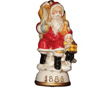 Father Christmas and Jack Frost Circa 1886 Memories of Santa Collection NIB
