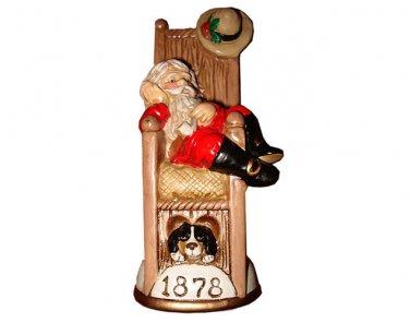 Knickerbocker St.Nick Circa 1878 Memories of Santa Collection Ornament NIB